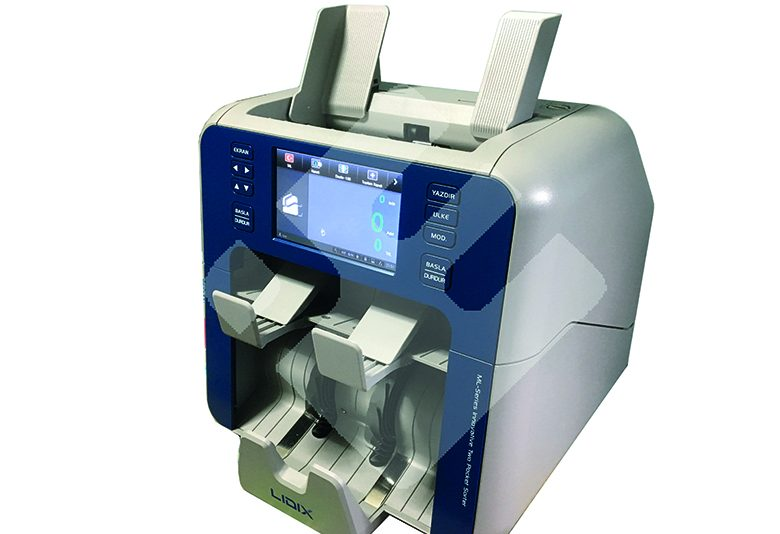 lidix ml-2v iki katlı para sayma makinası