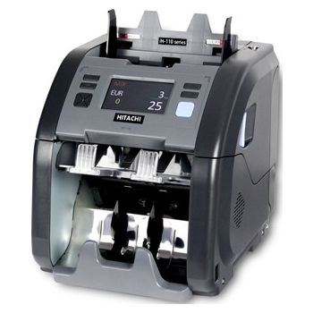 HITACHI I hunter IH-110 çift katlı para sayma makinesi